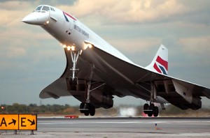 Concorde British Airway