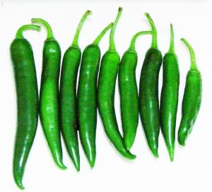 green chili Vietnamese ot sung trau