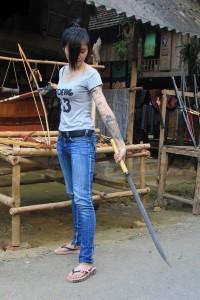 cuttie dan choi sword girl