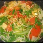 Lau canh chua Thai Lan homemade
