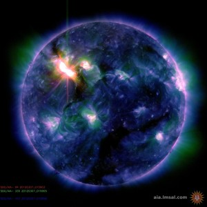 sun big solar blast destroying the earth wednesday thursday march 2012 NOT