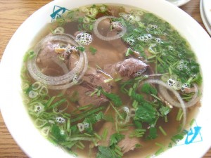 Pho Chin Nam Fresh Rice Noodles with Well Done Brisket & Flank