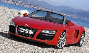 spring break 2012 car rental Miami Audi R8 Spyder