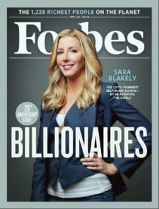 how to be a billionaire with $5000 sara blakely spanx