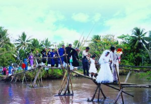 vietnam traditional country side wedding dam cuoi nha que
