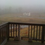 Foggy morning March 16th 2012 Coatesville PA my back yard :)