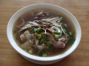 Pho Chin Gan Fresh Rice Noodles with Well Done Brisket & Soft Tendon