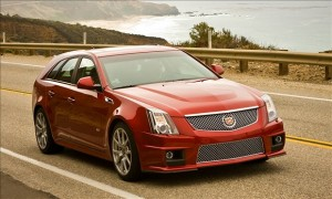spring break 2012 car rental get away Orlando, Fla. Cadillac CTS-V Sport Wagon