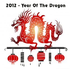 new born year of the dragon 2012