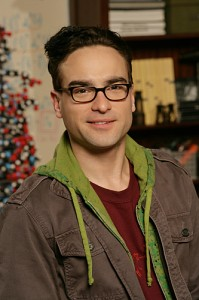 the big bang theory character guy with glasses Leonard