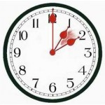 Change your clock time forward one hour people here USA spring time change is here March 2012