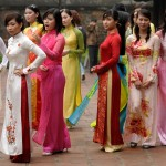 Vietnamese women ladies girls day is today March 8 2012