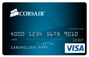 corsair rebates prepaid credit card visa