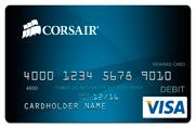 corsair rebates prepaid credit card visa