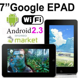 Android 2.3 Touchscreen Tablet PC WiFi