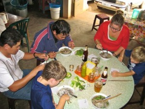 Kids Meal Pho Fresh Rice Noodles with Well Done Brisket, Meaballs & Soft Drink