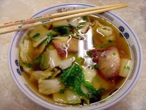 bbq char siu xa siu xiu won ton quang thanh noodle soup