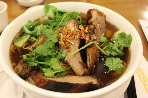 bbq fried duck soup mi vit tiem chicken soup healthy