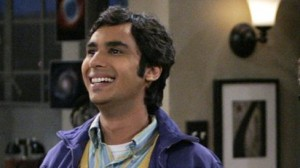 the big bang theory character India guy Raj