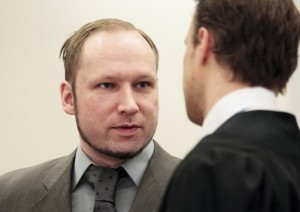 a devil you're looking at not a human being Anders Behring Breivik April 25th 2012 testifies in court