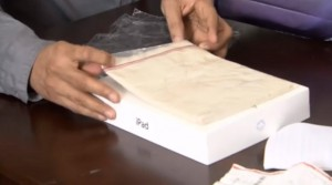 ipad 2 ipad 3 retail box brand new sealed clay inside fake returns