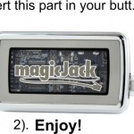 Don't be fooled by magicjack no computer required just plug into power outlet