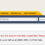 Newegg.com is taking extra precaution on phishing scam fight against hacking