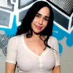Nadya Suleman Octomom doing porn pictures shoot and movies with spaghettios play role
