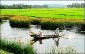 Vietnam landscape that will be gone in a few years